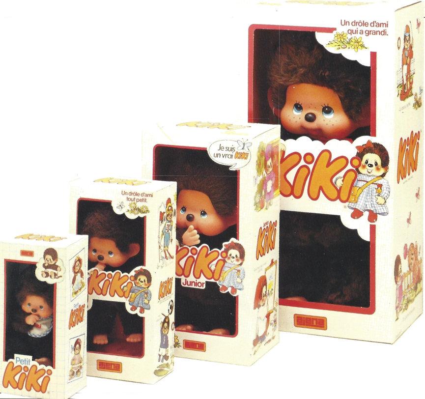Kiki de toutes tailles en boîtes