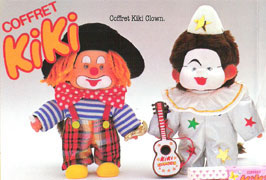 Coffret Kiki clown